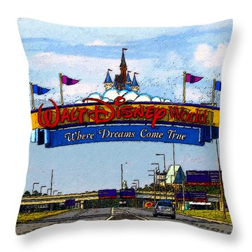 Were Dreams Come True Throw Pillow