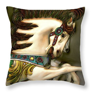 Throw Pillow featuring the digital art We're Free by Pennie McCracken