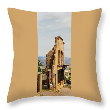 We're Still Here Throw Pillow by Kate Livingston