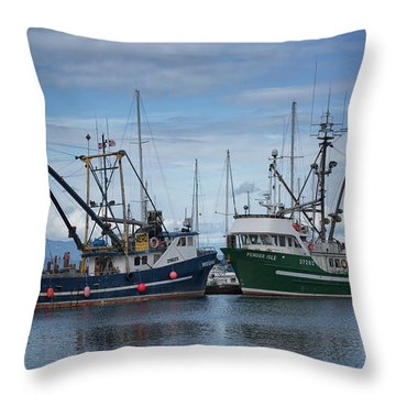 Wespak And Pender Isle Throw Pillow by Randy Hall