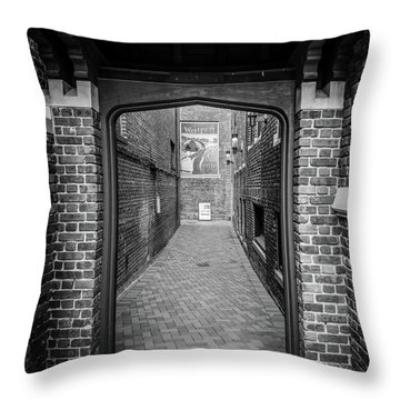 Throw Pillow featuring the photograph Wesport Arch by Michael Hope