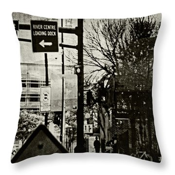 Throw Pillow featuring the photograph West 7th Street by Susan Stone