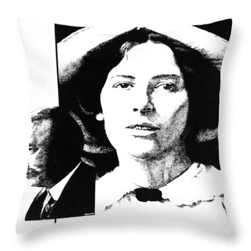 West And Wells Throw Pillow