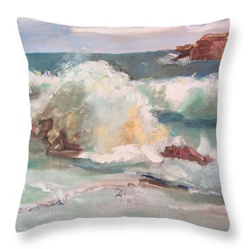 West Coast Throw Pillow