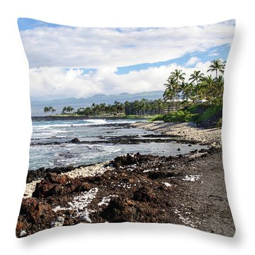 West Coast North Throw Pillow