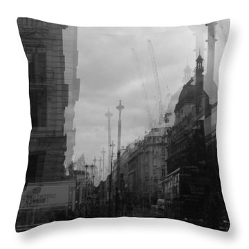 West End Tremors Throw Pillow