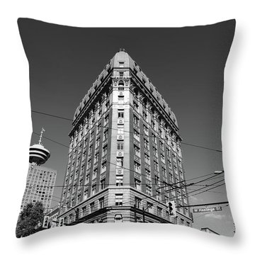 West Hastings  Throw Pillow
