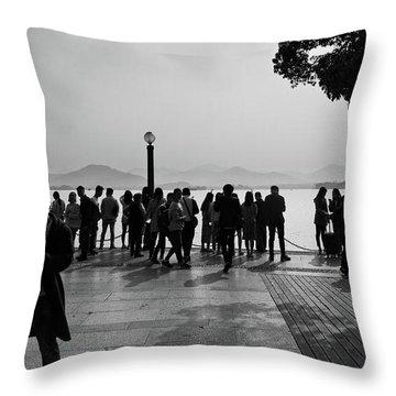 West Lake, Hangzhou Throw Pillow