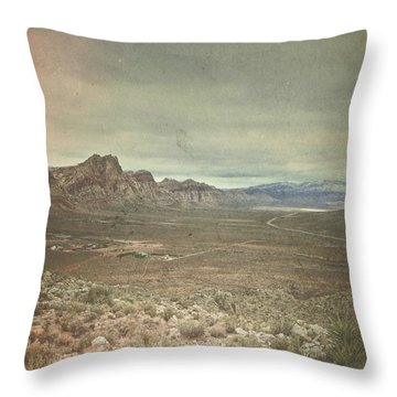 Throw Pillow featuring the photograph West by Mark Ross