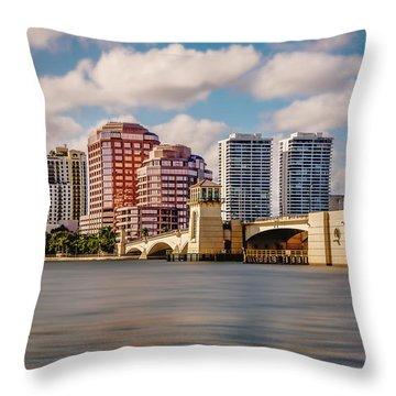West Palm Beach 2015 Throw Pillow