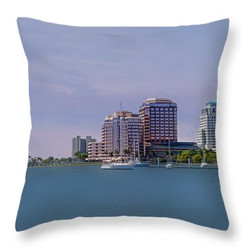 West Palm Beach - Spring Throw Pillow