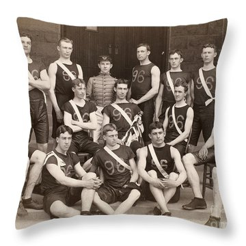 West Point: Track, 1896 Throw Pillow by Granger