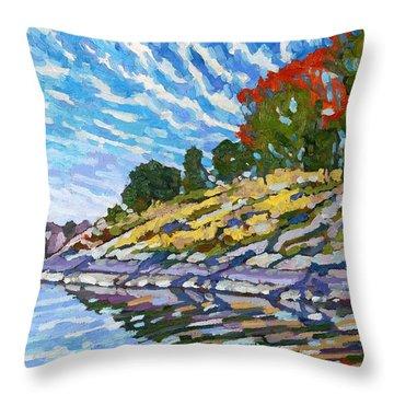 West Shore Throw Pillow