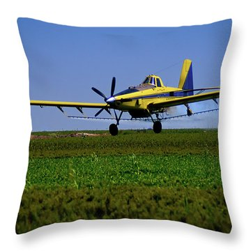 West Texas Air Force 2 Throw Pillow