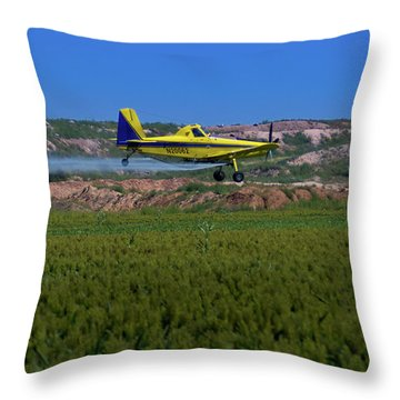 West Texas Airforce Throw Pillow