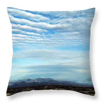 West Texas Skyline #2 Throw Pillow
