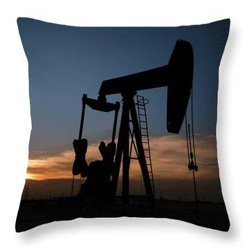 West Texas Sunset Throw Pillow