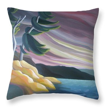West Wind Throw Pillow