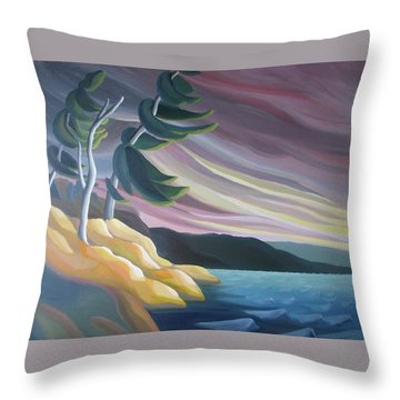 West Wind Throw Pillow