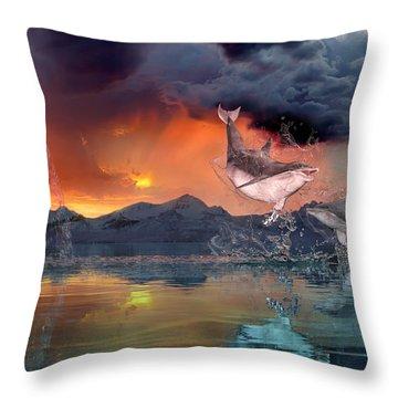 West World Throw Pillow