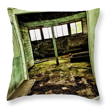 Westbend Throw Pillow by Ryan Crouse