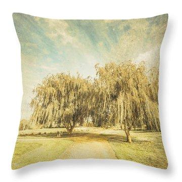Westbury Common Wetland Throw Pillow