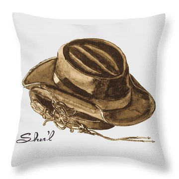 Western Apparel Throw Pillow by Sher'l