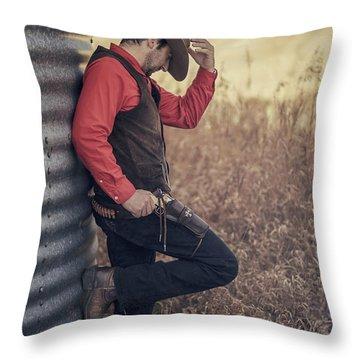 Western Dreams Throw Pillow