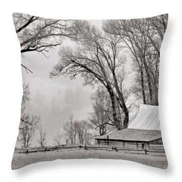 Western Heritage Throw Pillow