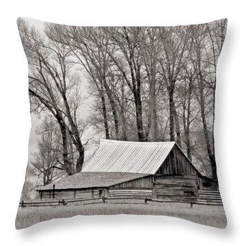 Western Heritage Throw Pillow