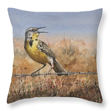 Meadowlark Throw Pillows
