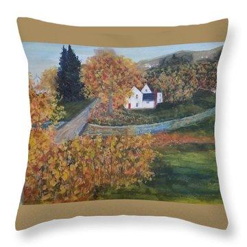 Western New York Throw Pillow