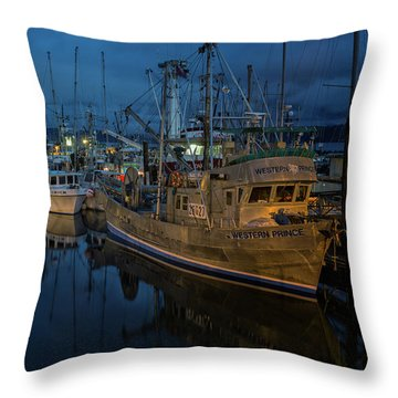Throw Pillow featuring the photograph Western Prince by Randy Hall