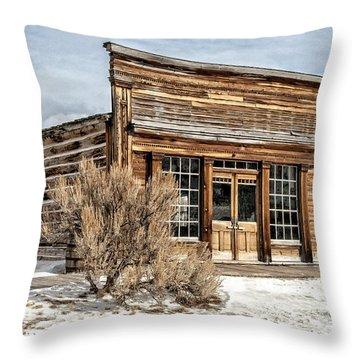 Western Saloon Throw Pillow