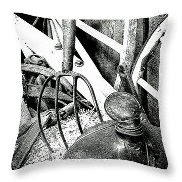 Western Stuff Throw Pillow by Al Bourassa
