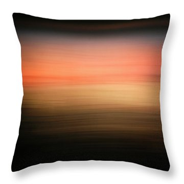 Throw Pillow featuring the photograph Western Sun by Marilyn Hunt