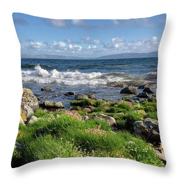 Western View Throw Pillow