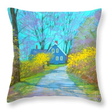 Westhaver Road  Throw Pillow