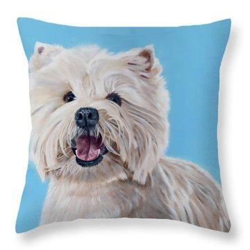 Westie Throw Pillow