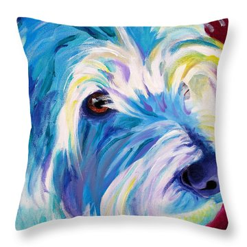 Westie - That Look Throw Pillow