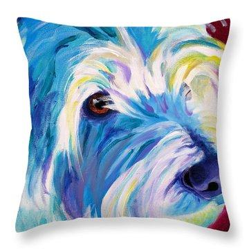 Westie - That Look Throw Pillow