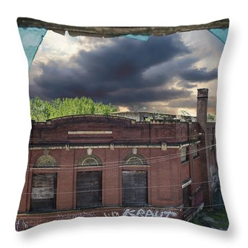 Westinghouse In A Storm Throw Pillow