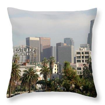 Westlake, Los Angeles Throw Pillow