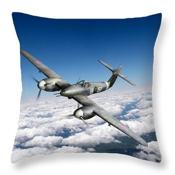 Throw Pillow featuring the photograph Westland Whirlwind Portrait by Gary Eason