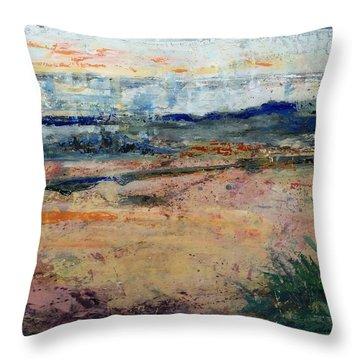 Westport River Dawn Throw Pillow