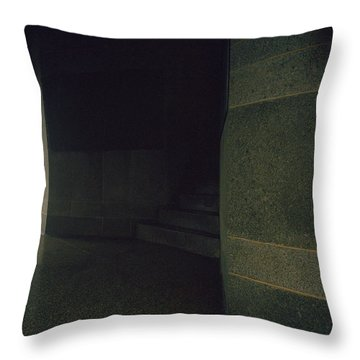 Wet Weather Throw Pillow
