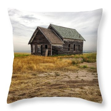 Wetmore Barn Throw Pillow