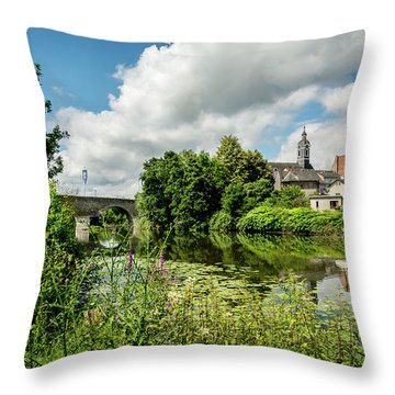 Throw Pillow featuring the photograph Wetzlar Germany by David Morefield