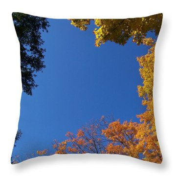 What A Day - Photograph Throw Pillow by Jackie Mueller-Jones