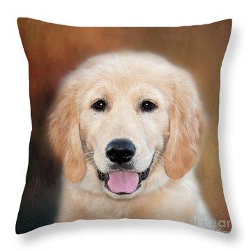 What A Furball Throw Pillow
